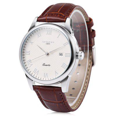 Sanda P189G Unisex Quartz Watch Date Roman Number Scale