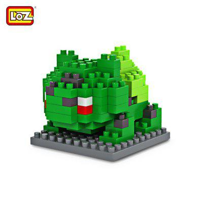 Loz 120pcs m - 9139 pokemon bulbasaur building block educational toy for...