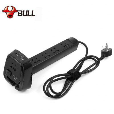 Bull GN - U2050 Power Strip 4 Outlet 2 USB Port