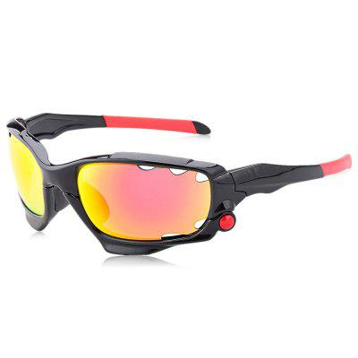 SENLAN 041C4 Outdoor Sports Goggles Sunglasses with 3 Lenses