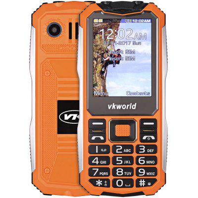 Buy ORANGE Vkworld V3S Quad Band Unlocked Phone for $18.91 in GearBest store