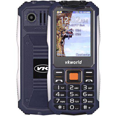 Buy DEEP BLUE Vkworld V3S Quad Band Unlocked Phone for $18.91 in GearBest store