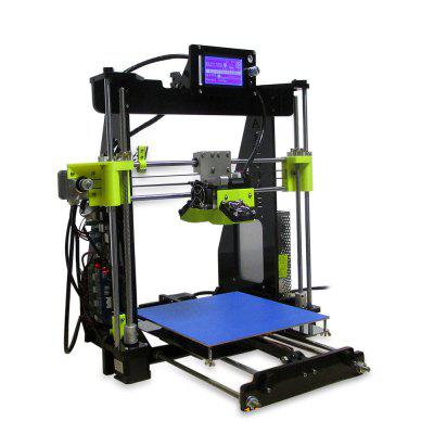 RAISCUBE Prusa I3 3D Printer3D Printers, 3D Printer Kits<br>RAISCUBE Prusa I3 3D Printer<br><br>Brand: RAISCUBE<br>Engraving Accuracy: 0.1 - 0.2mm<br>File format: STL, OBJ, G-code<br>Frame material: Acrylic plate<br>Language: Chinese,English<br>Layer thickness: 0.1-0.4mm<br>Material diameter: 1.75mm<br>Model: Prusa I3<br>Nozzle diameter: 0.4mm<br>Nozzle quantity: Single<br>Nozzle temperature: Room temperature to 260 degree<br>Package size: 50.00 x 32.00 x 19.00 cm / 19.69 x 12.6 x 7.48 inches<br>Package weight: 9.4000 kg<br>Packing Contents: 1 x Prusa I3 Desktop LCD 3D Printer Kit, 1 x 0.5kg PLA Material<br>Packing Type: unassembled packing<br>Product forming size: 220 x 220 x 250mm<br>Product size: 48.00 x 30.00 x 18.00 cm / 18.9 x 11.81 x 7.09 inches<br>Product weight: 8.0000 kg<br>Supporting material: PLA, ABS<br>System support: Linux,  Windows 7, Windows XP,  Windows 8,  Mac<br>Type: DIY<br>Voltage: 100V/240V<br>Working Power: 250W<br>XY-axis positioning accuracy: 0.012mm<br>Z-axis positioning accuracy: 0.004mm