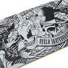 Buy Oxelo Four Wheels Skateboard Printing Pattern WHITE