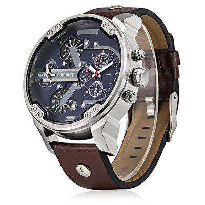 Gearbest Cagarny 6820 Male Quartz Watch