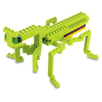WLtoys 120 Pcs Mantis Building Block 6608 IQ Training