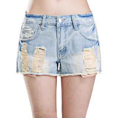 Female Short Baggy Jeans