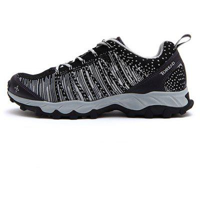 Buy GRAY 41 Toread Mesh Fabric Men Hiking Trail Running Shoes for $35.63 in GearBest store