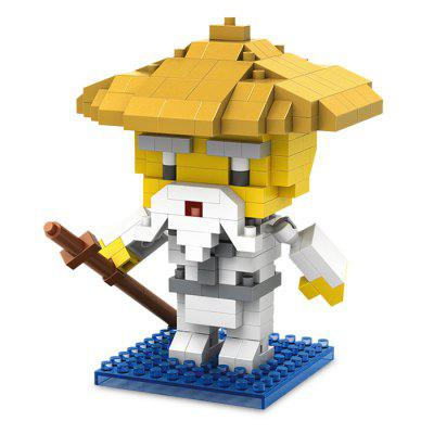 PIECE FUN Figure Style ABS Cartoon Building Brick