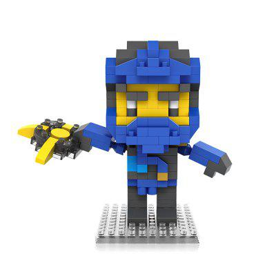 PIECE FUN DIY Figure Style ABS Cartoon Building Brick