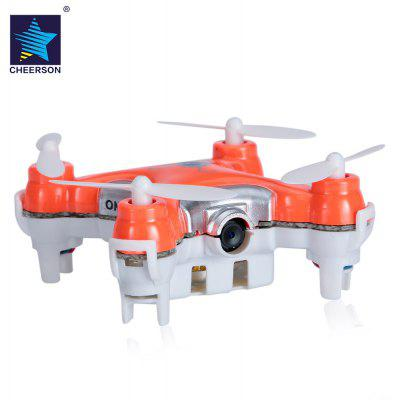 Cheerson CX - 10C CX-10C CX10C Mini RC Quadcopter with 0.3MP Camera / 3 Flight Speed Mode / Support Hover Function / LED Light / Hand Launch