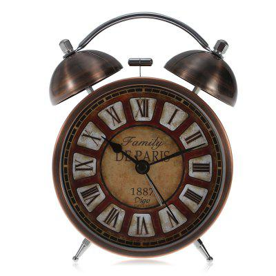 Digo 45H18.RD Retro Quartz Analog Alarm Clock