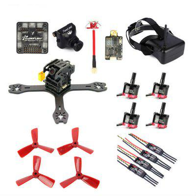 GB - 155 Carbon Fiber DIY Frame Kit with SP Racing F3 ACRO 6DOF FC Image