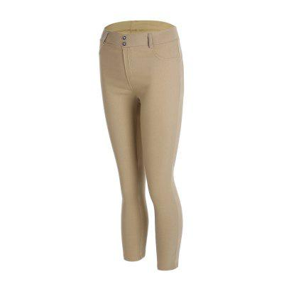 Sexy Female Slim-fitting Yoga Pencil PantsYoga<br>Sexy Female Slim-fitting Yoga Pencil Pants<br><br>Closure Type: Elastic Waist<br>Color: Black,Blue,Grey,Khaki,Red<br>Features: High elasticity<br>Gender: Female<br>Material: Polyester<br>Package Content: 1 x Sexy Female Slim-fitting Yoga Pencil Pants<br>Package size: 26.00 x 22.00 x 3.00 cm / 10.24 x 8.66 x 1.18 inches<br>Package weight: 0.3000 kg<br>Size: L,M,S,XL<br>Type: Pants<br>Types 1: Yoga Pants