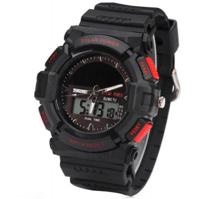 Skmei 1050 Solar Power Analog Digital LED Watch Military Army Sports Watch