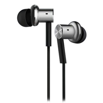 Original Xiaomi Mi IV Hybrid Dual Drivers Earphones Built-in MicEarbud Headphones<br>Original Xiaomi Mi IV Hybrid Dual Drivers Earphones Built-in Mic<br><br>Application: Portable Media Player, Mobile phone, DJ, Computer<br>Brand: Xiaomi<br>Color: Assorted Colors<br>Compatible with: Computer<br>Connecting interface: 3.5mm<br>Connectivity: Wired<br>Driver type: Dynamic<br>Frequency response: 20~20KHz<br>Function: Voice control, Answering Phone, Microphone, Song Switching<br>Impedance: 32ohms<br>Package Contents: 1 x Original Xiaomi Earphones, 3 x Paired Replacement Ear Tip<br>Package size (L x W x H): 10.00 x 7.00 x 3.00 cm / 3.94 x 2.76 x 1.18 inches<br>Package weight: 0.0800 kg<br>Plug Type: Full-sized<br>Product weight: 0.0200 kg<br>Type: In-Ear<br>Wearing type: In-Ear