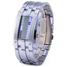 Skmei 0926 Military LED Watch Date 3ATM Water Resistant Stainless Steel Body