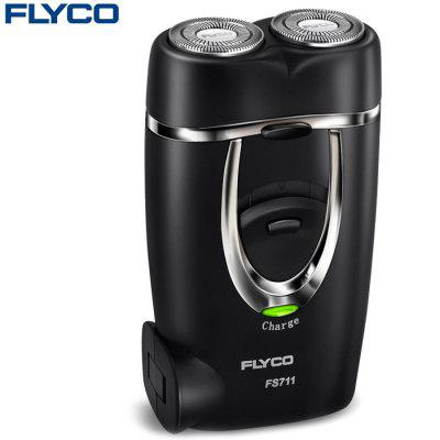 FLYCO FS711 Rotatable Dual Head Electric Shaver