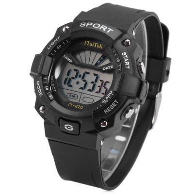 iTaiTek IT  -  820 LED Sports LED Watch Week Date Alarm Chronograph 50M Water Resistant Wristwatch