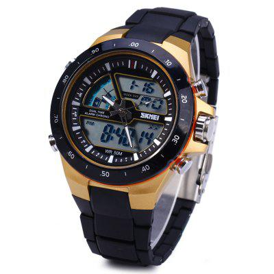 Skmei 1016 Water Resistant LED Sport Watch Japan Double Movt Wristwatch