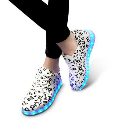 A82 Unisex LED Shoes USB Charging