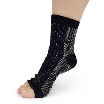 Women Soft Nylon Ankle Protection Socks for Yoga
