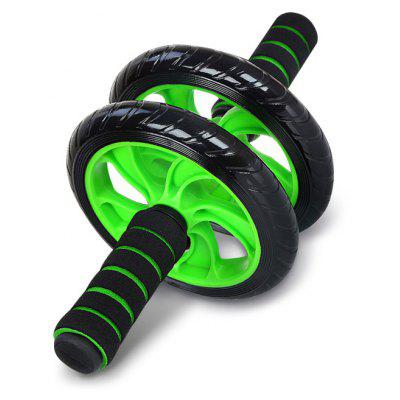 Two-wheel Abdominal Roller Wheel for Home Gym Exercises