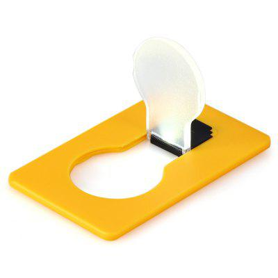 New LED Design Renovation Credit Card Size Ultra - slim Fold - up LED Pocket Wallet / Purse Lamp / LightDecorative Lights<br>New LED Design Renovation Credit Card Size Ultra - slim Fold - up LED Pocket Wallet / Purse Lamp / Light<br><br>Package size (L x W x H): 9.00 x 5.50 x 2.00 cm / 3.54 x 2.17 x 0.79 inches<br>Package weight: 0.0300 kg<br>Product size (L x W x H): 8.60 x 5.30 x 0.30 cm / 3.39 x 2.09 x 0.12 inches