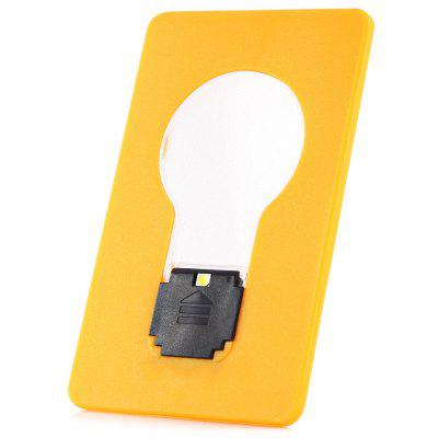 New LED Design Renovation Credit Card Size Ultra - slim Fold - up LED Pocket Wallet / Purse Lamp / Light -  RANDOM COLOR