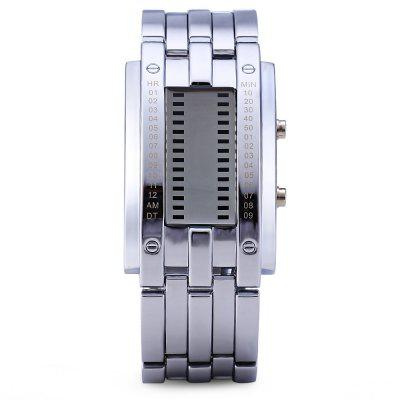 Skmei 0926 Military LED Watch Date 3ATM Water Resistant Stainless Steel BodySports Watches<br>Skmei 0926 Military LED Watch Date 3ATM Water Resistant Stainless Steel Body<br><br>Available Color: White,Black<br>Band material: Stainless Steel<br>Brand: Skmei<br>Case material: Stainless Steel<br>Clasp type: Folding clasp with safety<br>Display type: LED lamp<br>Movement type: Digital watch<br>Package Contents: 1 x Watch<br>People: Unisex table<br>Product size (L x W x H): 24.00 x 2.40 x 1.20 cm / 9.45 x 0.94 x 0.47 inches<br>Product weight: 0.1500 kg<br>Shape of the dial: Rectangle<br>Special features: Date<br>The band width: 2.4 cm / 0.9 inches<br>The dial diameter: 2.4 cm / 0.9 inches<br>The dial thickness: 1.2 cm / 0.5 inches<br>Watch style: Business, LED, Military<br>Water resistance: 30 meters