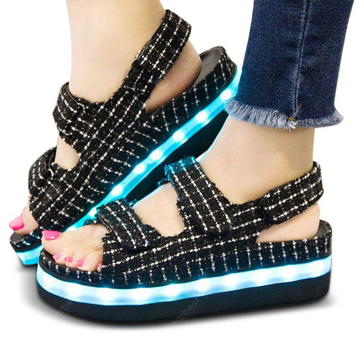 USB Charging Flashing LED Shoes