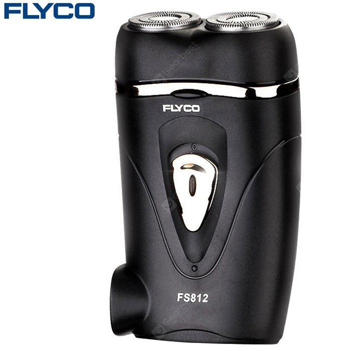 FLYCO FS812 Portable Rotatable Dual Head Electric Shaver