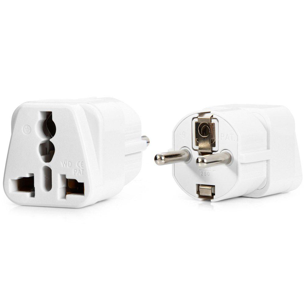 WD-9 EU Plug to Universal US UK AU Socket Adapter