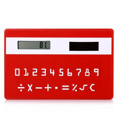 1PC Colorful Pocket Solar Power Calculator