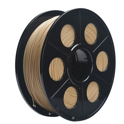 K - Camel 1.75mm Wood PLA 3D Printing Filament 400m