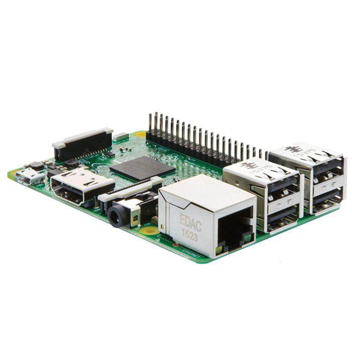 Raspberry Pi 3 Model B Motherboard - GREEN CHINESE VERSION