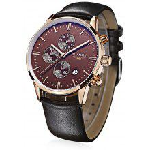 GUANQIN GQ12006 Fashion Men Quartz Watch