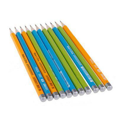 12PCS Deli S903 HB Hexagonal Wood Pencil for Student 12PCS
