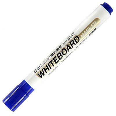 10PCS Delistar Erasable Marker Pen for Teaching Whiteboard