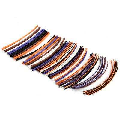 Buy 100PCS Woer Polyolefin Heat Shrink Tube Sleeving Set COLORMIX for $3.83 in GearBest store