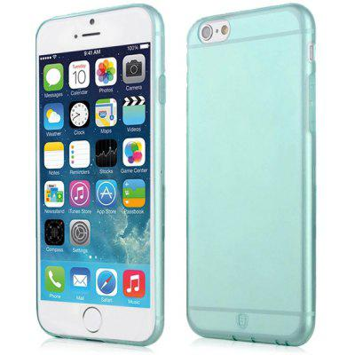 Buy BLUE Baseus Transparent TPU Material Ultrathin Back Case for iPhone 6 4.7 inches for $3.50 in GearBest store