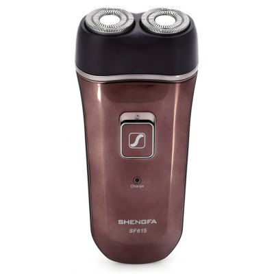 SHENGFA SF615 Portable Rotatable Dual Head Electric Shaver