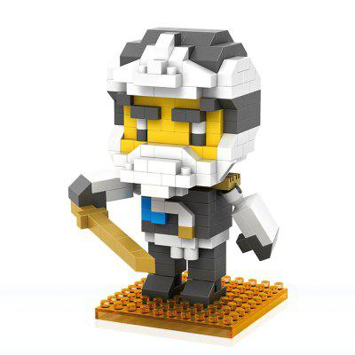 PIECE FUN Cartoon Figure Style DIY Building Brick