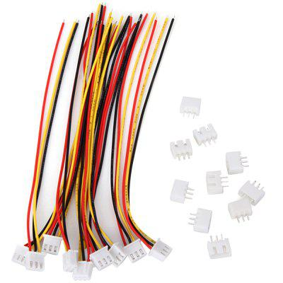 10PCS JST - XH 2S Balance Wire Extension Adapter Lead 15cm for RC Lipo injora 1pcs 15cm 30cm rc servo extension y wire cable for jr futaba rc model