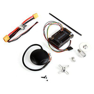 APM2.6 Flight Controller Board + GPS Module + Power Module + Folding Antenna Mount Holder