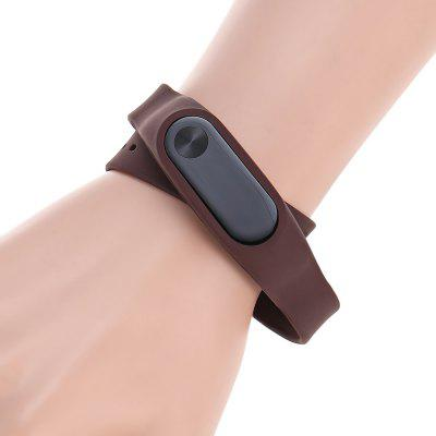 46cm Two-loop Silicone Strap for Xiaomi Miband 2
