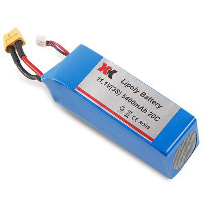 Extra Spare 5400mAh 11.1V 20C Battery Fitting for XK Detect X380 Remote Control Quadcopter