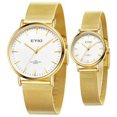 Montres EYKI Casual 3ATM Waterproof Couple