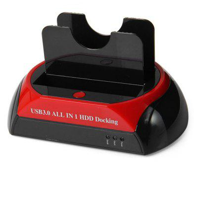 USB 3.0 Dual HDD Docking Station
