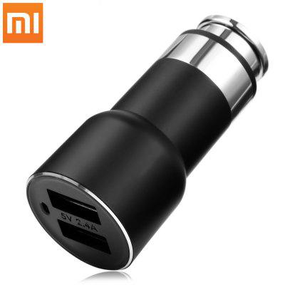 Original Xiaomi Roidmi 2S Bluetooth Car Charger - INTERNATIONAL VERSION BLACK-vente flash